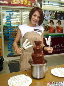 江美琪 爱情的重量 签名会 自掏万元备巧克力喷泉犒赏歌迷