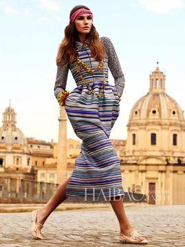 与异域风情来场华丽 艳遇 模特Eugenia Volodina演绎 Vogue 杂志巴西...