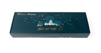 Akko X Ducky发布Shine6蓝色特别版 猴年旗舰级机械键盘