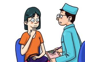 漫画自网络-少女因子宫肌瘤月经不正常数月 医生微创手术为其切除