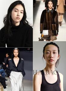 ...冬时装周上最强国模新秀盘点 袁博超是Fendi唯一亚洲模特,吴佳烨...