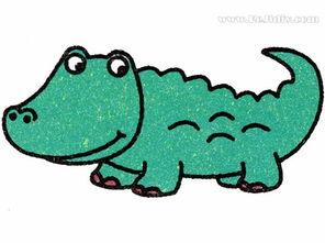 吉缘given20话-谁说鳄鱼都是很可怕的,下面可吉要跟小伙伴们分享的简笔画鳄鱼就非...