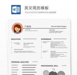 如何将中文简历转化为英文简历?