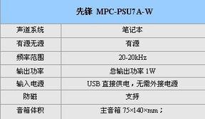 ....0便携音箱 先锋MPC PSU7