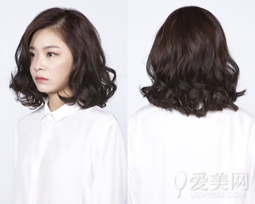 韩式中长发烫发发型图片,韩式中长发烫发发型,韩式中长发烫发发型...