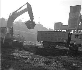 ...煤中心气膜结构煤场全封闭环保工程全面开工建设,预计工期3个月...