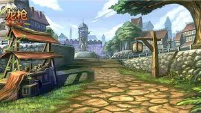 元素小镇作为《龙枪》中的新手村... 玩家心灵最深处的港湾.魔法历...