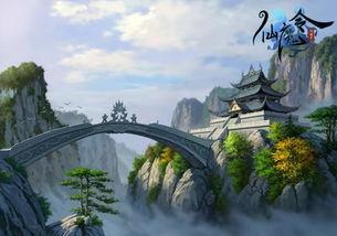 天穹崖-卡牌对战网页游戏 仙魔令 原画首次曝光