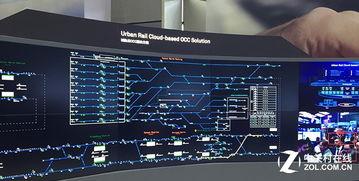 云的轨迹-城市轨道交通云OCC解决方案展示-最新技术前沿 华为全联结大会展台...