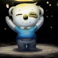 可爱熊卡通头像 快乐的卡通小熊