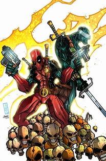 Marvel未来世界里的超牛拍档 Cable Deadpool 下 韦德篇