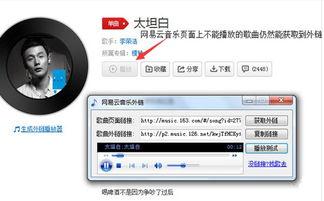 音乐外链获取工具下载 网易云音乐外链工具下载 免费版
