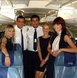 ASTRA航空(希腊)-朝鲜空姐换装裙子变短 盘点各国空姐制服