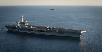 军事视频常用的纯音乐-美军MV 22鱼鹰在航母上进行起降飞行测试