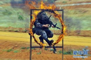 ...南某集团军演练穿越火圈.-云南边境一士兵持枪离队 军方设卡盘查