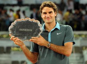 图解费德勒大师赛17冠 距离纳达尔纪录只差一冠