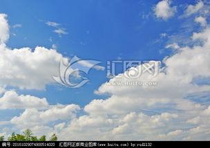 碎天逆旅-蓝天白云 白云蓝天素材 小碎云