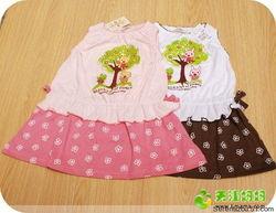 实物照   16元转   背心裙   材质:全棉   颜色:粉色+粉色 白色+棕色   ...
