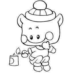卡通小孩放鞭炮简笔画人物人物简笔画栏目里的 卡通小孩放鞭炮人物简...