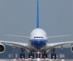 cz3219航班-南航A380客机10月12日起首次执飞国际航线 图