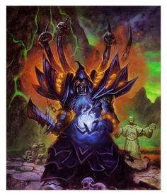 魔兽世界中的古尔丹-炉石英雄传 术士之祖古尔丹背景故事全介绍