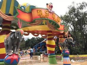 7日,长隆欢乐世界全新游乐区域