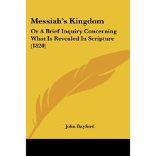 ... Brief Inquiry Concerning What Is Revealed In Scripture 1820