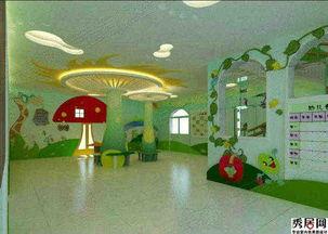幼儿园室内墙壁装饰贴纸墙贴图片大全 可爱清新浮雕墙贴装修效果图