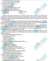 ...蒙古包头中考 英语 试题及答案第6页