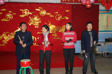 新华一中举行2011年度表彰奖励大会暨2012迎新春联欢会