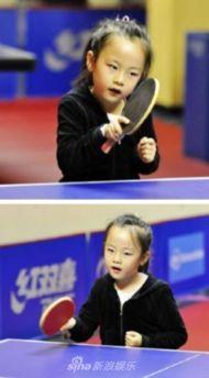 组图 刘国栋女儿将代表香港参赛 或成队伍年纪最小乒乓球手