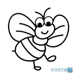 如何简笔画蜜蜂