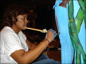 世界人体艺术节展现裸体之美