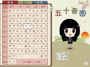 ...会日语五十音图发音及写法怎么能行