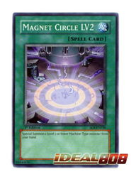 Yugioh Magnet Circle LV2 Common SOI EN038 Unlimited