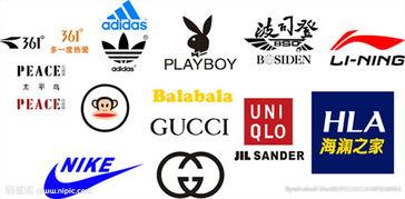服装品牌标识图片