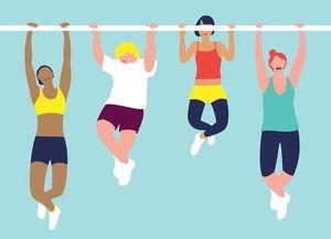 庸少-做引体向上需要低体脂率   为了搞清楚引体向上到底和身体健康的程度...
