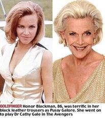 007系列电影众邦女郎今昔照对比