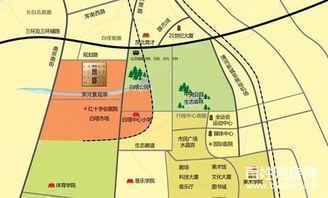 浑道-行政区划 白塔 地图