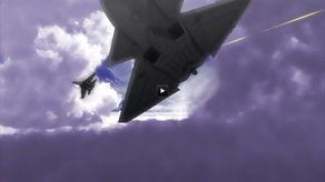 日本动画中上演歼11大战美国六代机