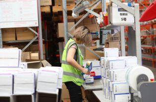 ...的包装箱进行预打包-悉尼GFC备战天猫双11 菜鸟助澳洲物流公司完...