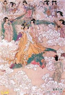 人李商隐的一首七绝,是一首以神话传说为背景写成的诗.诗里写到了...
