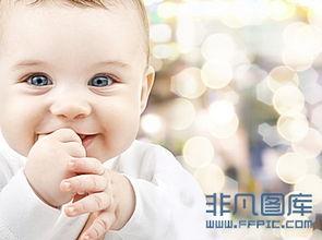 可爱笑容宝宝高清图片下载