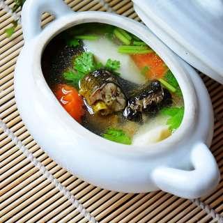 黄鳝汤-山药鳝鱼汤-秋季尝鲜正当食