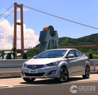 北京现代朗动试驾精美图片
