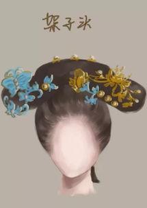 古风发型 架 来自云茉樱的图片分享 堆糖