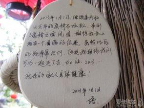 【形容山的词语】形容山的词语二字-一些小情侣来到这里,在小木牌上写下了海誓山盟,以见证坚贞的爱情....