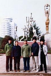 ...伯父部队转业到地质队,最左边的堂哥那时在郴县一中读中学,...