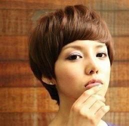 ...最新波波头发型图片 既个性又甜美