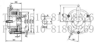 adf4350失锁-5、安装:安装注意事项   ●摩擦片及衔铁表面不得有油污,必须保持清...